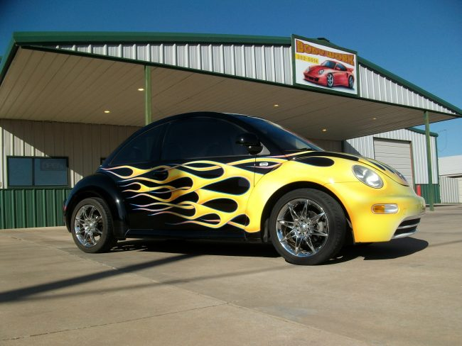The Flamed Bug
